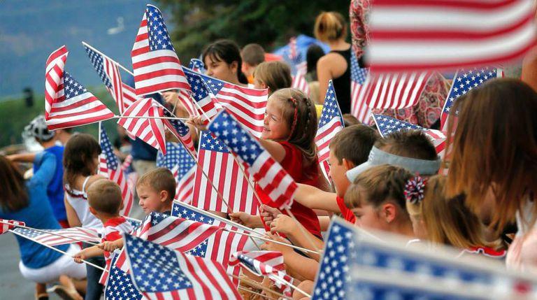 Desfile de 4 de julho no Arizona, EUA.