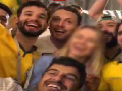 Reação à brincadeira de mau gosto de torcedores brasileiros ajudou a identificar três deles. Assembleia e OAB de Pernambuco repudiam ato e PM de Santa Catarina abre processo sobre o caso