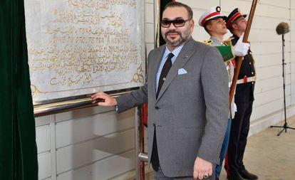 O rei de Marrocos, Mohamed VI, em junho passado.