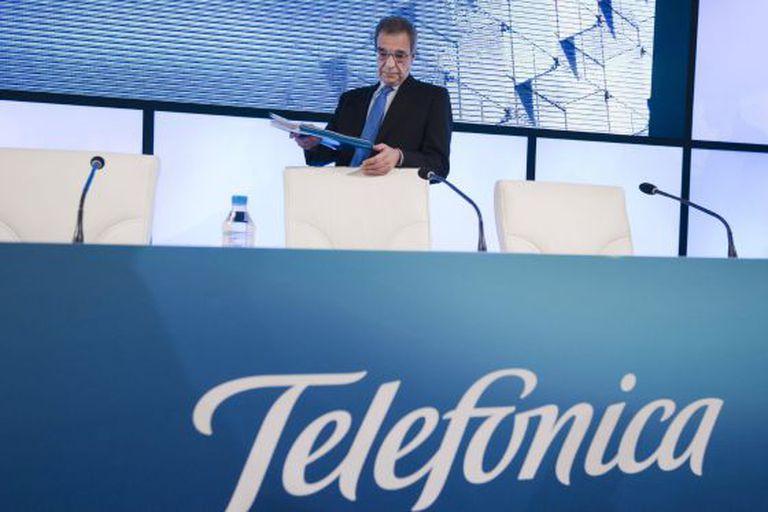 O presidente da Telefónica, César Alierta.