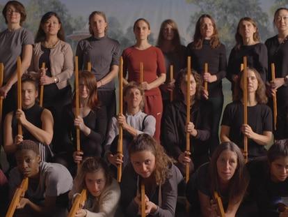 'Hold Hold Fire', 2019, still de vídeo da artista Olivia Plender.