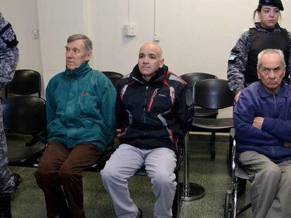 Da esq. para a dir.: Armando Gómez, Horacio Corbacho e Nicola Corradi.
