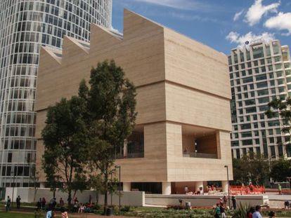 O novo Museu Jumex, construído pelo arquiteto britânico David Chipperfield.