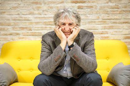 Juan Luis Arsuaga na sede da Fundação Gadea Ciência em Madri.