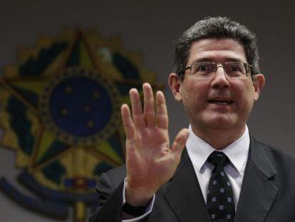 Levy, durante coletiva de imprensa, em Brasília.