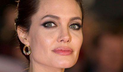 Angelina Jolie, em novembro.