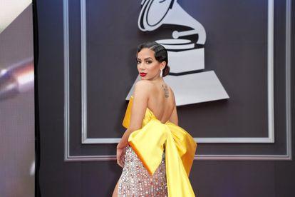 A cantora Anitta ganhou o Grammy de Melhor Álbum de Música Urbana. / JOHN PARRA / GETTY IMAGES