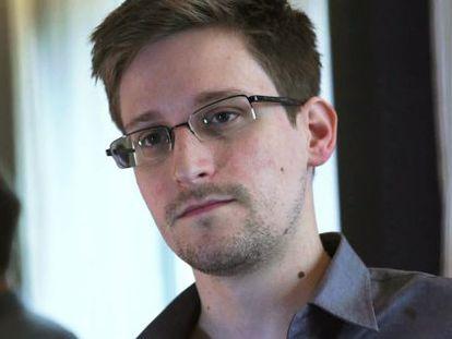 O ex-analista da NSA, Edward Snowden.