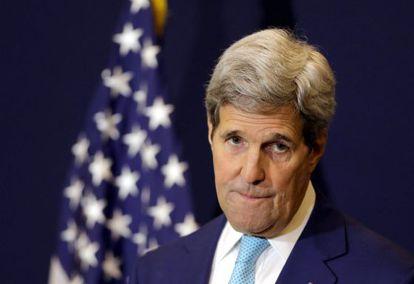John Kerry neste domingo, no Egito.