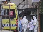 Dvd 993 19/3/20 Llegada de la primera contagiada por Covid 19 al  Gran Hotel Colón de Madrid, habiltado como hospital. KIKE PARA.