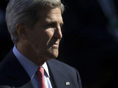 Secretário de Estado norte-americano, John Kerry, em imagem de arquivo.