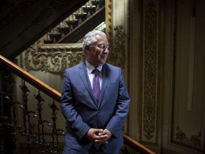 Antonio costa, líder do Partido Socialista de Portugal.