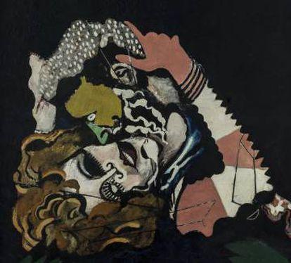 'Les amoureux après la pluie' de Picabia