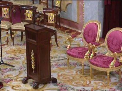 A Espanha tramitará na sexta-feira a criação de um foro especial para o Rei