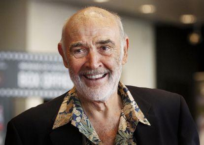 Sean Connery no Festival de Cinema de Edimburgo, em 2010.