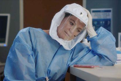 Ellen Pompeo, em uma imagem promocional da temporada 17 de 'Grey's Anatomy'.