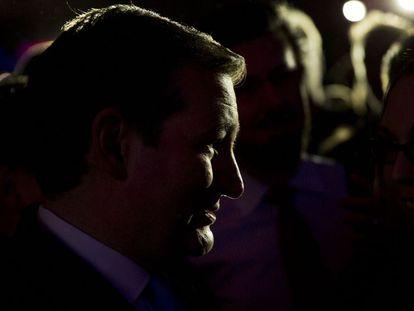 O senador Ted Cruz disputa indicação com Trump.