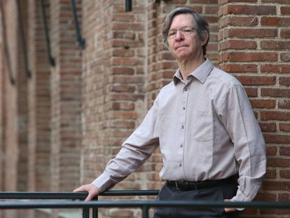 Alan Sokal, cientista estadunidense, na Residência Estudantil de Madri
