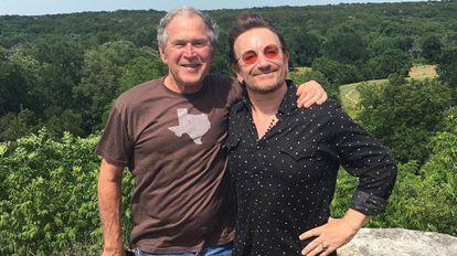 George W. Bush e Bono Vox