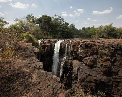 A cachoeira de Macapá
