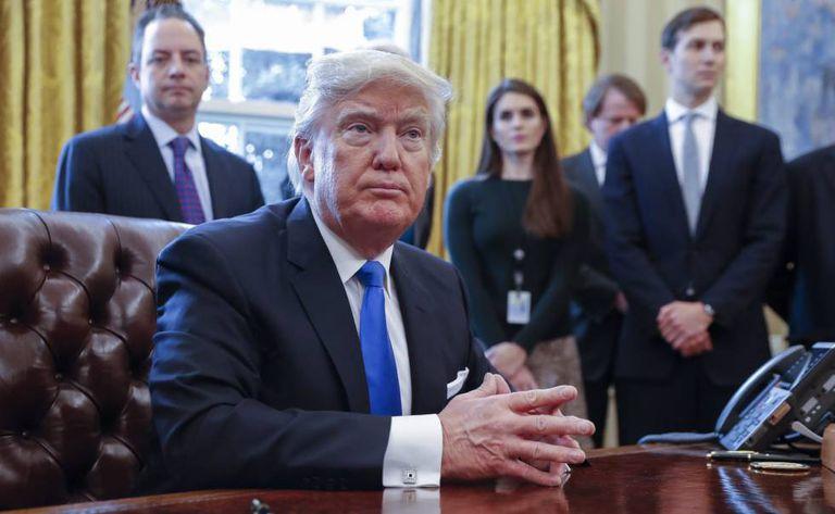O presidente norte-americano, Donald Trump.