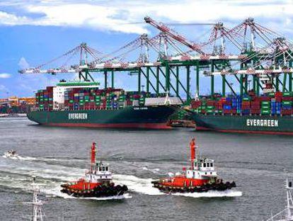 Imagem do Taiwan International Ports Corp (TIPC) em junho de 2017.