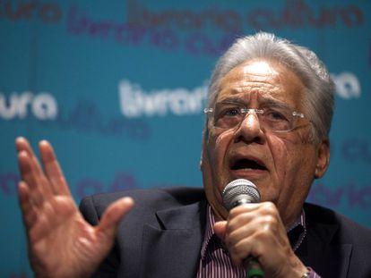 O ex-presidente Fernando Henrique Cardoso, em evento em setembro de 2015.