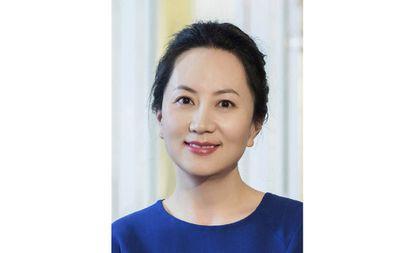 Meng Wanzhou, diretora financeira da Huawei