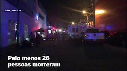 Ataque a um bar no México deixa pelo menos 26 mortos