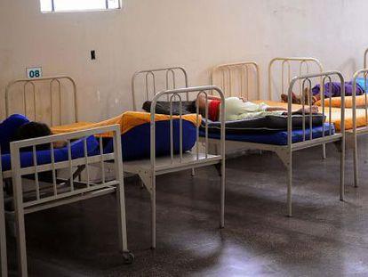 Um hospital psiquiátrico em Manaus.
