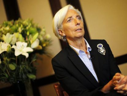 A diretora gerente do FMI, Christine Lagarde.