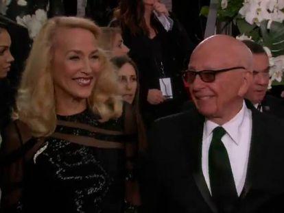 Rupert Murdoch vai se casar com Jerry Hall, ex-mulher de Mick Jagger