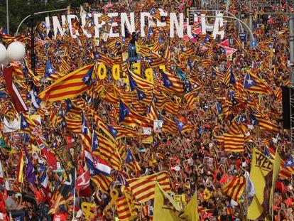 Catalunha celebra seu Dia Nacional com manifestação massiva pela independência