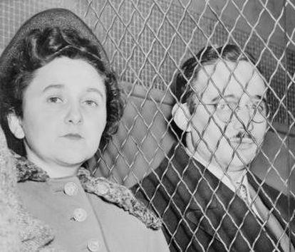 Ethel e Julius Rosenberg.