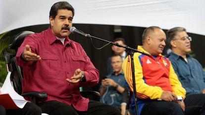 Nicolás Maduro, no último dia 2