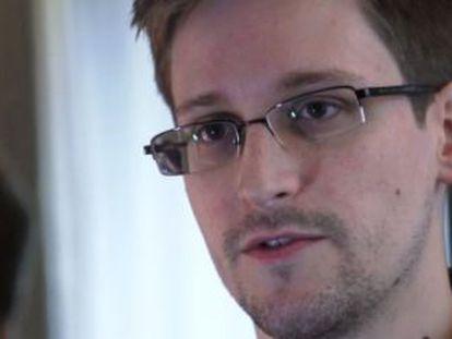 Edward Snowden o 10 de junho de 2013.