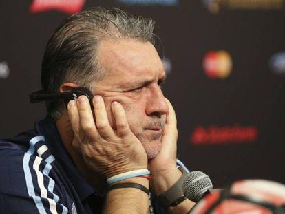 O ex-treinador da seleção argentina, Gerardo 'Tata' Martino.