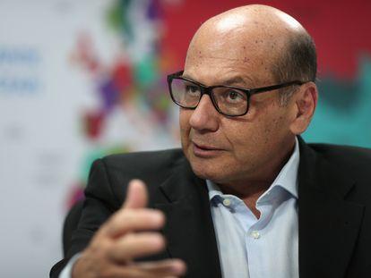 O diretor do Butantan, Dimas Covas, em imagem de julho de 2020.