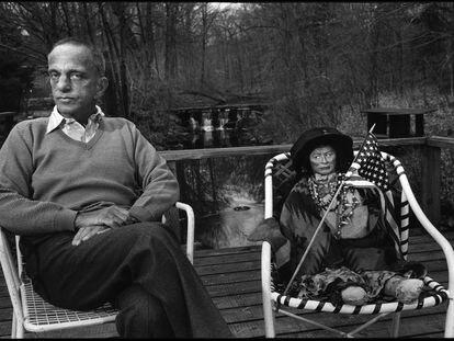 Cena do documentário 'A História de Roy Cohn'. Em vídeo, trailer do documentário.