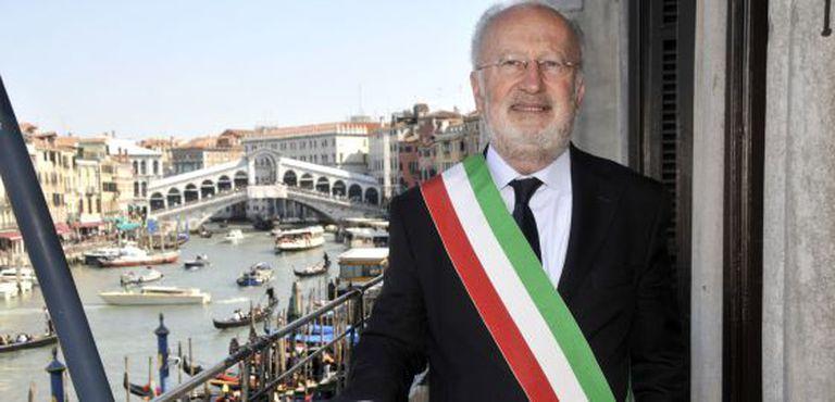 O prefeito de Veneza, Giorgio Orsoni, em abril de 2010.