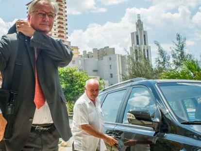 O serviço europeu das Relações Exteriores chega em Havana.