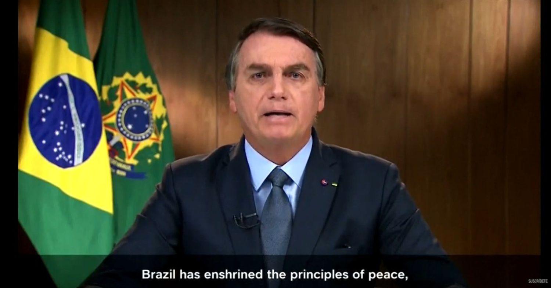 Jair Bolsonaro discursa nesta terça na Assembleia Geral da ONU.