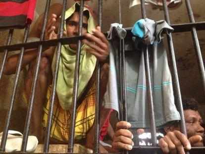 Detento na prisão de Pedrinhas, no Maranhão