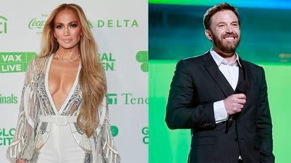 Ben Affleck e Jennifer Lopez.