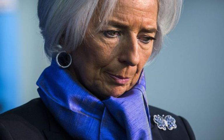 Christine Lagarde, diretora-gerente do FMI.
