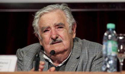 Pepe Mujica, na segunda-feira, em Buenos Aires.