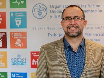Rafael Zavala, representante da FAO no Brasil