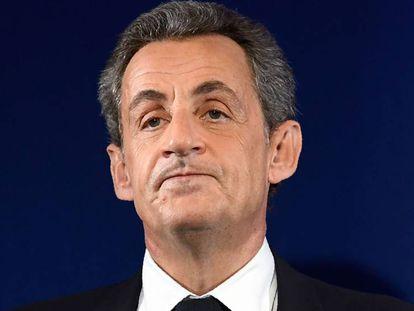 Nicolas Sarkozy em novembro passado.