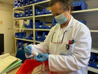 O Hospital Regional de Málaga participa com 12 pacientes com Covid-19 no teste internacional com remdesivir.