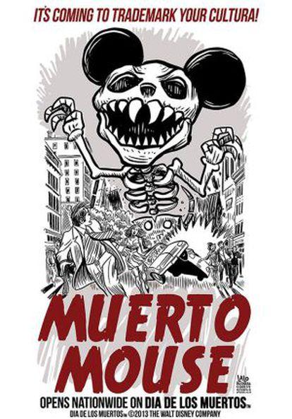 """""""Morto Mouse"""", ilustração do caricaturista Lalo Alcaraz."""